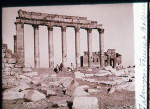 Syrie 1926-1928 :Palmyre Temple de Baalshamin