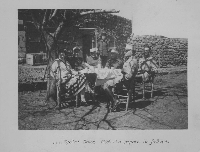 Djebel Druze popote de Salkad 1928
