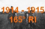 1914-1915 : 165° RI