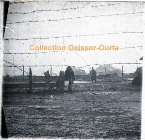 Photo à indentifier : soldat allemand derrière les barbelés