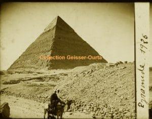 Egypte 1926 : Pyramide