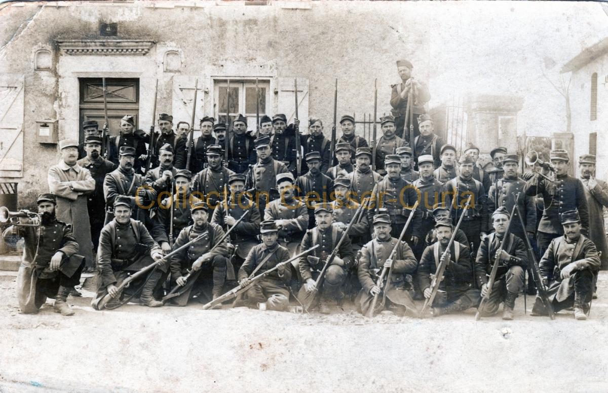 soldats du 107° RI