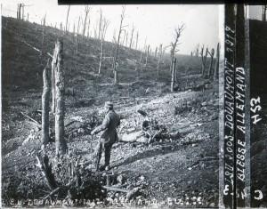 Douaumont blessé allemand