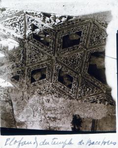 plafond temple de Bacchus