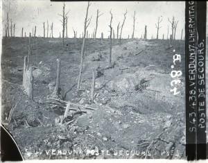 Verdun poste de secours
