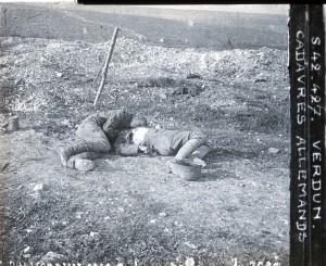 Verdun cadavres allemands
