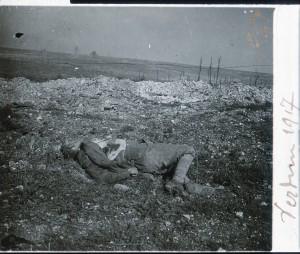 Verdun un mort