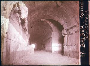Baalbek souterrain