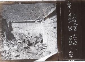 Fort de Vaux petit dépôt