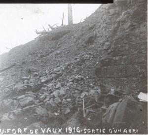Fort de Vaux sortie d'un abri