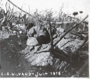 Fort de Vaux un tué