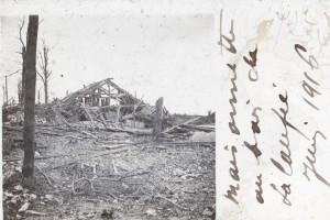 Verdun : maisonnette au bois de la Laufée
