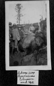 Adieu aux américains avril 1918