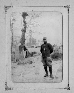 Alfred Charbonnier porte la barbe au début de la guerre