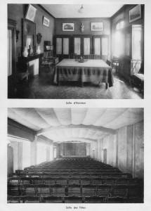 Salle d'honneur et salle des fêtes