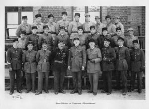 Sous-Officiers et caporaux d'encadrement