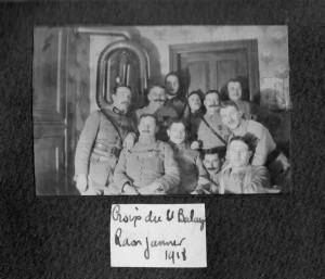 Lieutenant Balay 1918