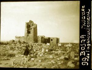 Bosra mosquée de l'agenouillement