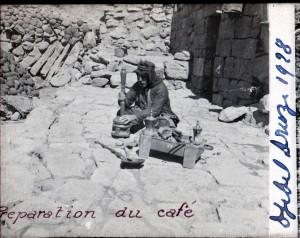 Préparation du café 1928