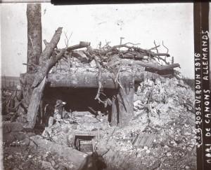 Verdun abri de canons