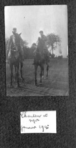 Chanteur janvier 1916