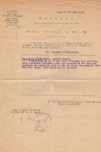 Citation juin 1918