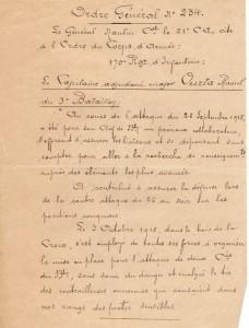 Citation nov 1918