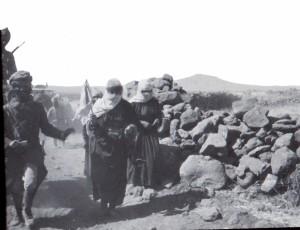 Femmes Druzes rentrant de dissidence