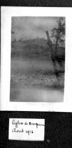 Eglise août 1916