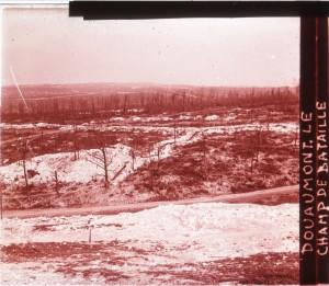 Douaumont le champ de bataille