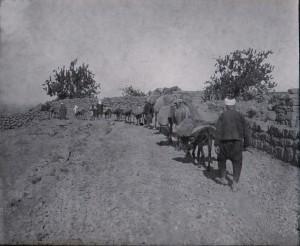 Druzes allant au moulin
