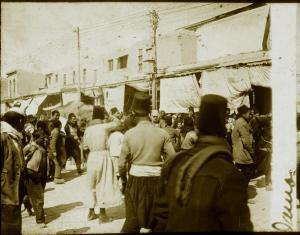 Damas : un éléphant dans une rue