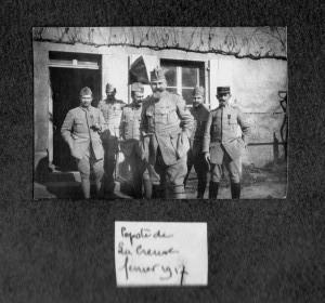 Popote la Creuse 1917