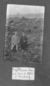 Ourta et Ferrier à Houdain 1915