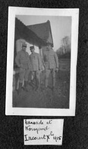 Lansade et Normand décembre 1915