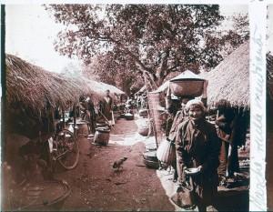 Mendiante en Indochine