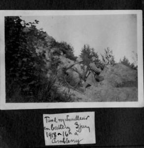 Fusil mitrailleur juin 1918