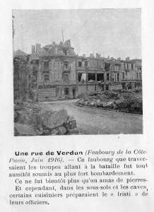 Une rue de Verdun