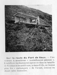 Sur la route du fort de Vaux