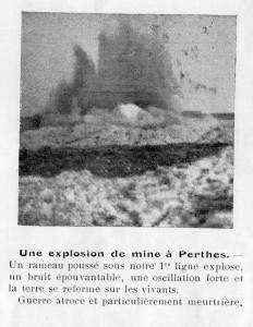 Explosion de mines