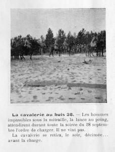 Cavalerie au bois 38