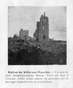 Eglise de Ville sur Tourbe