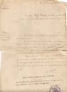 Lettre de Raymond mai 1916
