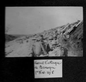 Banogne avant l'attaque nov 1918