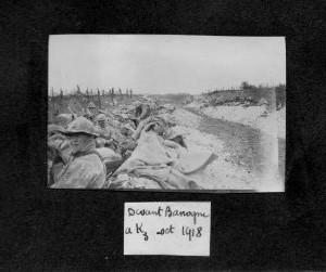 Banogne octobre 1918