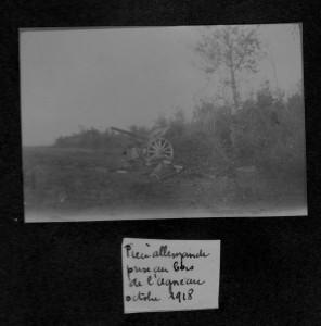 Bois de l'Agneau octobre 1918