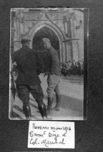 Commandant Dèze et Colonel Maréchal 1916