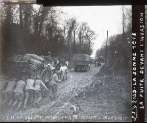 Somme : fuite devant l'invasion